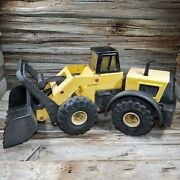 Vintage 22 Tonka Truck Tractor Front Loader Metal Plastic Toy Car Vehicle