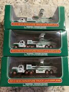 Hess Toy Truck 2012 Hess Miniature Toy Truck And Airplane - Mint In Box Get 3