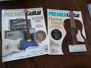 Pair Of Premiere Guitar Magazines July And Sept 2017 With Song Tabs