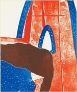 Burhan Doganandccedilay Walls V And03969 2 Lithograph Signed And Numbered In Pencil