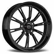Rc Components Hammer Solid Gloss Black 17 X 4.5 5 X 5.0 2.25 Back Space