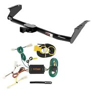 Class 3 Curt Trailer Hitch And Wiring Package For Toyota Sienna Minivan