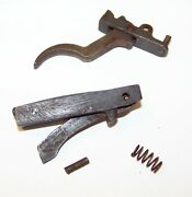 Arisaka 99 Last Ditch Trigger Assembly And Bolt Stop G486
