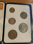 Britainandrsquos First Decimal Coins Collection Blue Folder 1968-71 Uncirculated