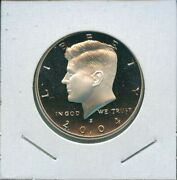 2004 S Kennedy Proof 90 Silver Half Dollar 50c Us Mint 13 2004-s Proof Dcam