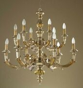 Chandelier Wooden Classic A 12 Lights Coll Holder 785/12