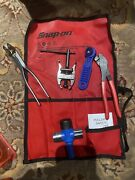 Snap On Battery Service Tool Set Pliers,cleaner,puller, Original Pouch