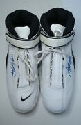 Vintage Nike Shoes Signed By Antonio Mcdyess Player Denver Size Us-15 2000 Year
