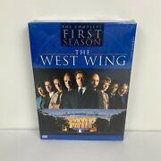 New The West Wing - The Complete First Season 1 Dvd, 2003, 4-disc Set, Canadian