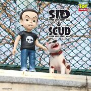 Herocross Sid And Scud Figures 24 And 12