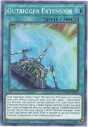 3 X Yu-gi-oh Card - Inch-en012 - Outrigger Extension Super Rare Holo - Nm/mint