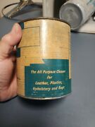Nos Vintage Gm 987456 All Purpose Cleaner For Leather Plastics Upholstery Rugs