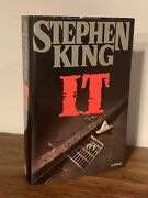 It By Stephen King 1986, Hardcover Viking Books True First Edition