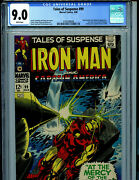 Tales Of Suspense 99 Cgc 9.0 1968 Silver Age Marvel Last Issue Amricons B12