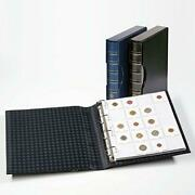 Lighthouse Black Grande Ring Binder For Storing 200 Coin Holders With M20k Pages