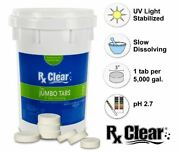 Rx Clear 3 Dissolving Stabilized Chlorine Swimming Pool Tablets - Choose Size