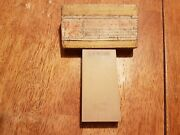 La Rose Belgian Coticule Sharpening Stone Hone With Stamp And Box For Razors