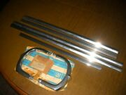 Nos Chevrolet 1960 Belair 7 Piece Set Of Rear Panel Tail Light And Trunk Mlds