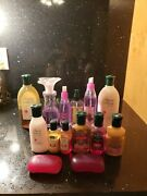 Vintage Bath And Body Works Sun Ripened Raspberry And Country Apple, Sprays Gels +++
