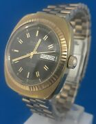 Mens Vintage Bulova Automatic Oceanographer 333 Watch Free Priority Shipping.