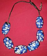 Gorgeous  6 Vintage, Millefiori On Glass, African Trade Beads