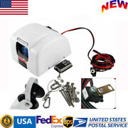 45lbs 12v Boat Electric Anchor Winch W/ Remote Wireless Control For Saltwater Us