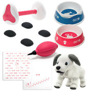Aibo Official Accessories Sony Paw Pads Meal Bowl Aibone Dice Plush Doll Set