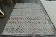 Ivory / Fuchsia 6and039-7 X 9and039-2 Back Stain Rug Reduced Price 1172612403 Mad798a-6
