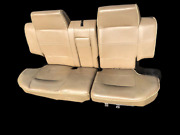 Land Rover Discovery 1 Lse 98 Complete Rear Seat Assembly Bahama Beige W/pipe
