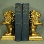 Under The Old Flag Military History Civil War Etc Antique Old Blue Books