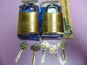 2 New Abus Ic Best Cyl. With H Core And 1 Core And 5 Keys Padlock  Locksmith