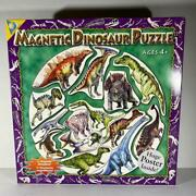 Magnetic Puzzle Dinosaur Puzzle 4+ The Orb Factory 15 Pieces