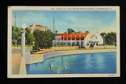 1935 Municipal Auditorium From Causeway Antique Cars Clearwater Fl Pinellas Co