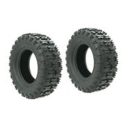 Two 13x5.00-6 Tire 13x5-6 Lawn Tractor Lawn Mower Front Tires 13 X 5 - 6