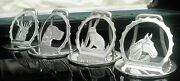 4 Cased Silver Menu Or Place Card Holders Chester 1938 A Wilcox