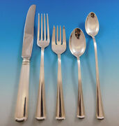 Marie Louise By Blackinton Sterling Silver Flatware Set For 8 Service 52 Pieces