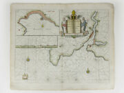Capt. Greenvile Collins Map Fowey And Mounts Bay