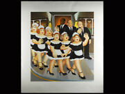 Beryl Cook Girls Night Out Signed Artist Proof Print