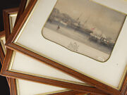 Day And Haghe Victorian Prints Royal Yacht Visit To Plymouth