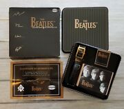 1996 Fossil Limited Edition Collectible Beatles Watch Complete Box Set 458/1000