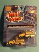 1954 Ford Septic Truck Montgomery Svc 2pk N Scale Mini Metals 50416