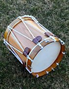 Civil War Drum Colonial Marching Revolutionary Medieval 14 Inch Snare Natural