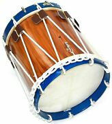 Civil War Drum Colonial Marching Revolutionary Medieval 14 Inch Snare Blue Rims