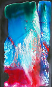 Acrylic On Canvas Painting Flowing Stone By Fred Bender Inner Idea Artists