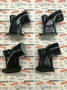 Continental C-85 C-90 O-200 Intake Elbow Black Set Of 4 Pn 40247 And 40246