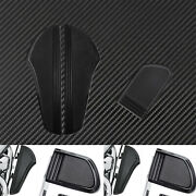 Cnc Motorcycle Front Rider Footboard Brake Pedal Cover Fit For Softail Touring