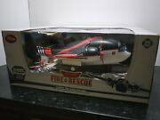 Rare - Disney Store Fire And Rescue 22 Cabbie Die Cast Carrier W/ Exclusive Dusty