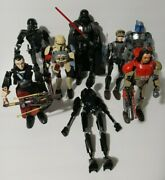 Lego Star Wars Buildable Figures Lot Of 8 Disney 75111 75107 75120 75121 +more