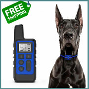 Dog Training Collar 500m Remote Control Usb Rechargeable Waterproof Shock Electr