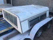 1970andrsquos Amc Jeep J-10 Shortbed Dealer Installed Aluminum Camper Shell Rare